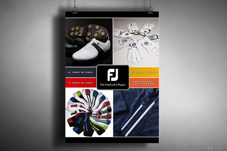 Affiche FootJoy n°1