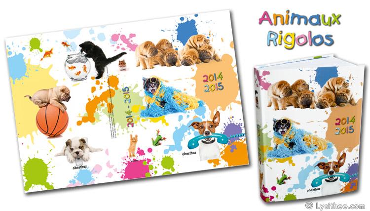 Agenda Animaux Rigolos