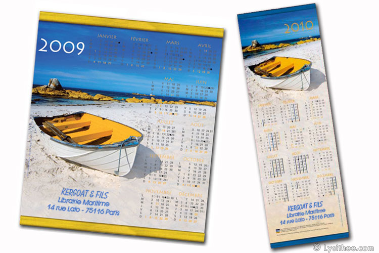 Calendrier Canot
