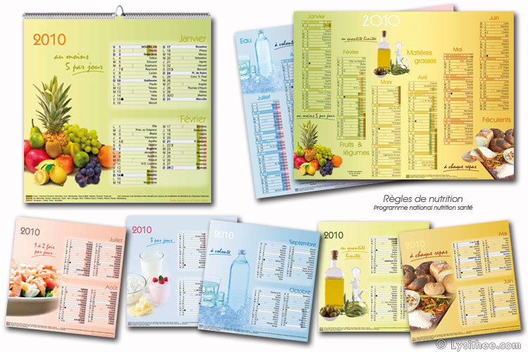 Calendrier Nutrition