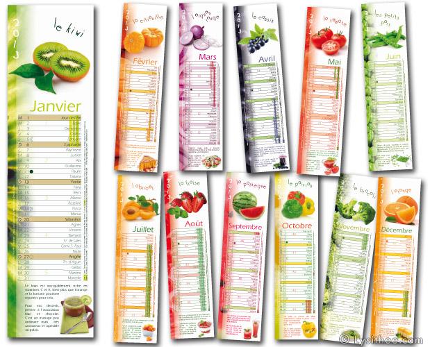 Calendrier Vitamines