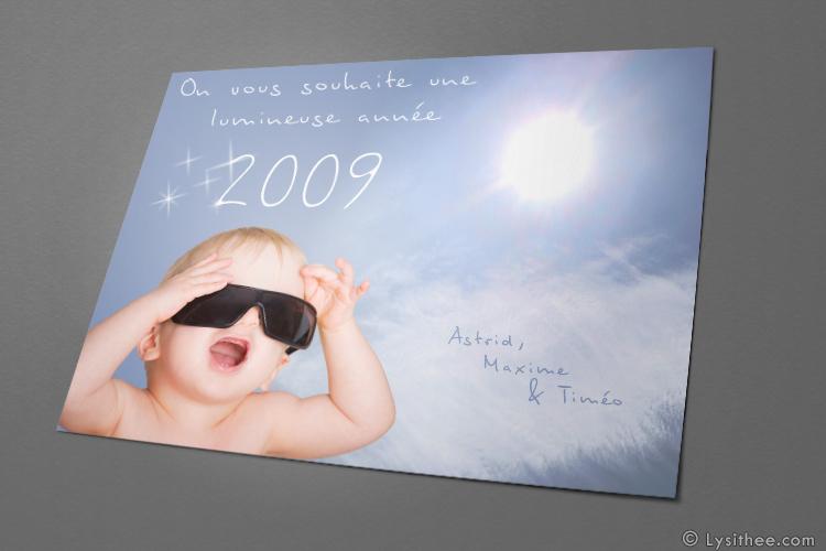 Cartes de voeux Bébé