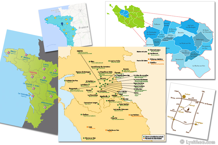 Cartes Grand Ouest