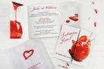 Faire-Part Mariage Pomme d'Amour