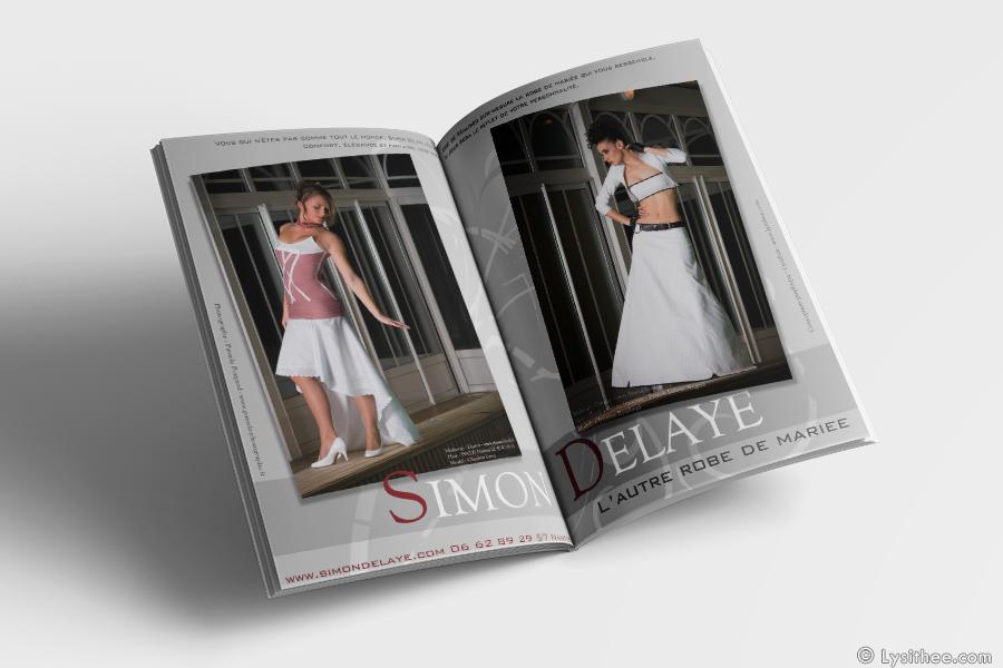 Publicité double page Simon Delaye