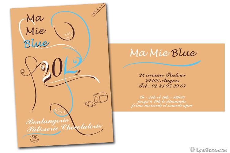Logo Ma Mie Blue