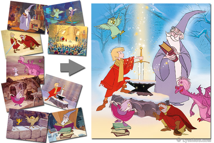 Merlin l'Enchanteur Disney