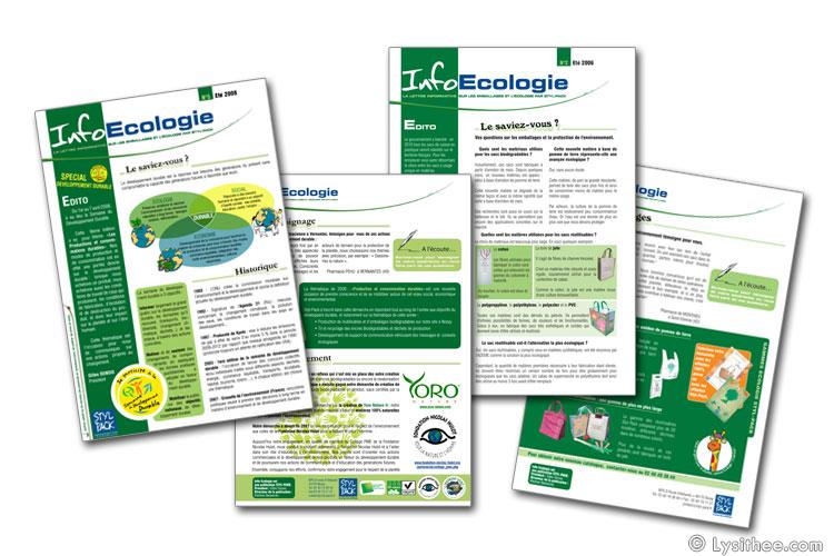 Newsletter InfoEcologie