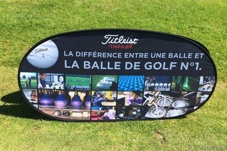 Pop-up de golf pour stand extérieur