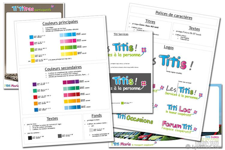 Charte graphique Groupe Les Titis !