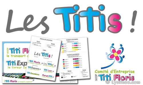 Logo et charte graphique Groupe Les Titis !