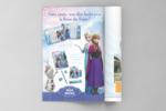 """Publicité """"La Reine des Neiges"""""""