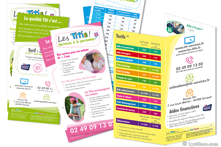 Flyers Titi Services