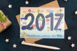 Carte de voeux Titi Floris 2017
