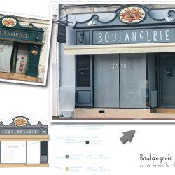 Devanture Boulangerie