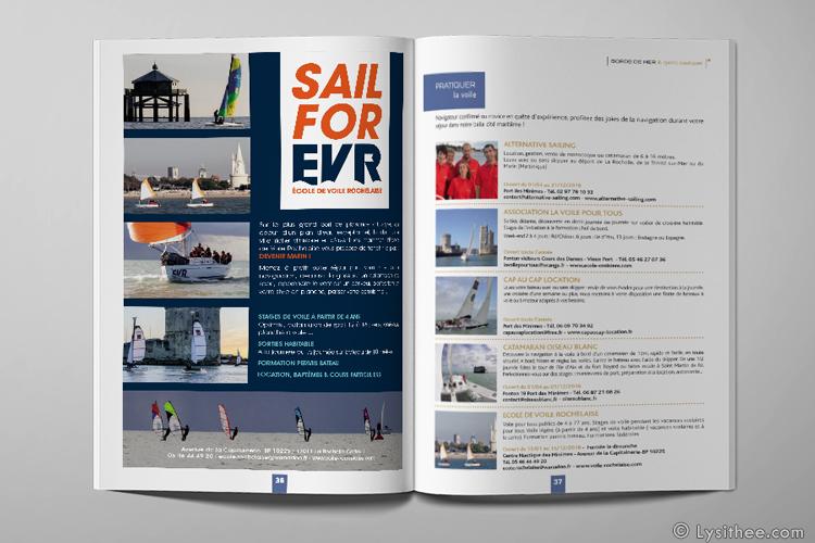 Publicité EVR brochure Office de Tourisme