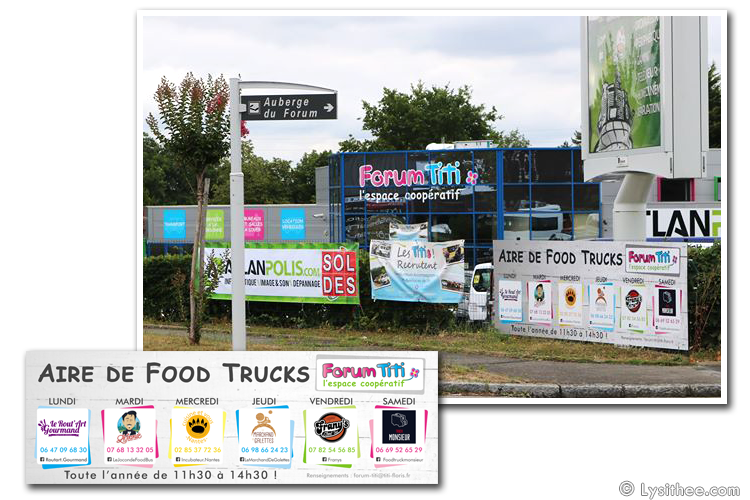 Aire de Food Trucks et Recrutement