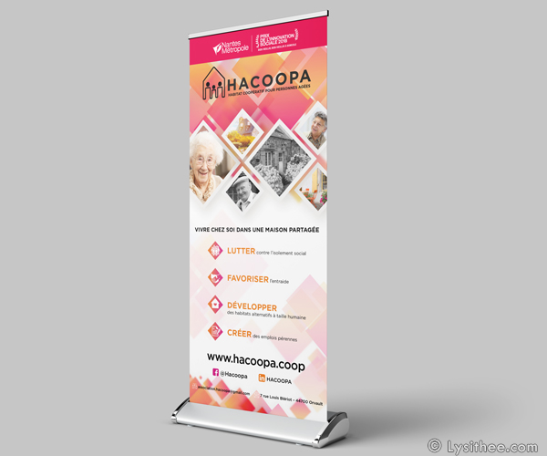 Roll-up pour Hacoopa