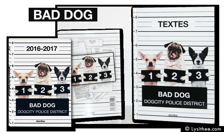 Agenda et cahier de textes Bad Dogs