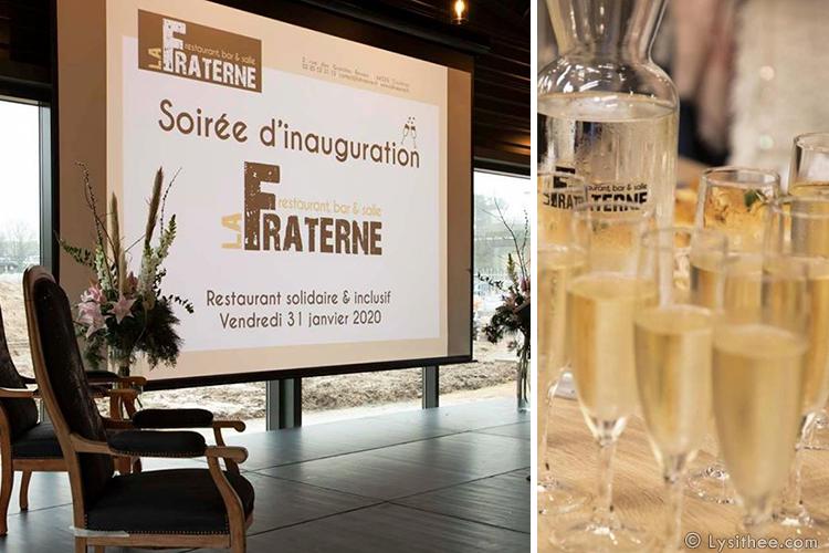 Inauguration La Fraterne