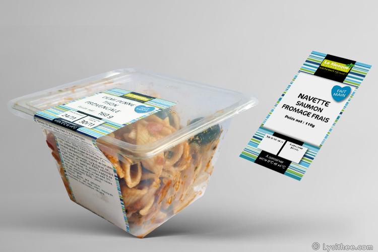Packaging snacking à base de poisson