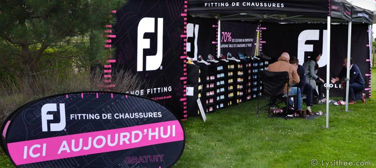 Pop-up Fitting Chaussures de golf