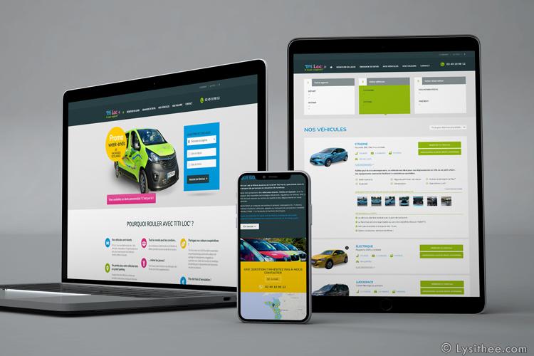Site web Titi Loc'