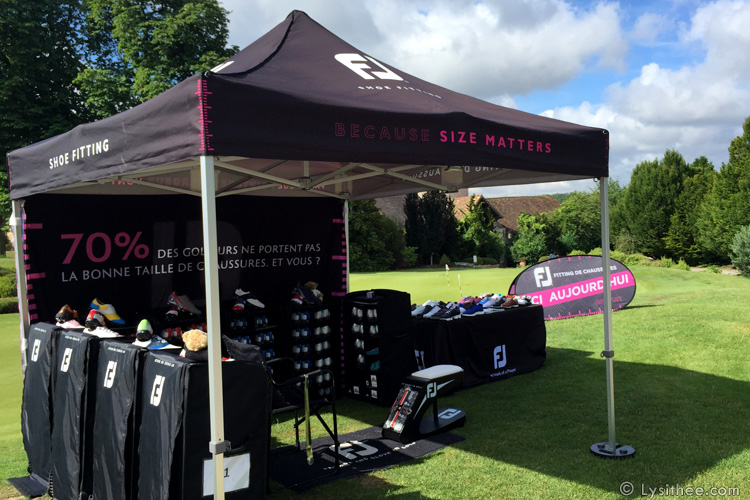 Stand Fitting Chaussures de golf